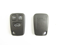 Free Shipping VOLVO 3 Buttons Remote Case Fob Shell Cover Replacement Fob