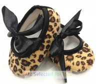 3pairs/lot, Baby shoes, Baby Girls Leopard Model,Kids Prewalker Shoes,infant baby crib shoes, Soft Sole, Small Wholesale
