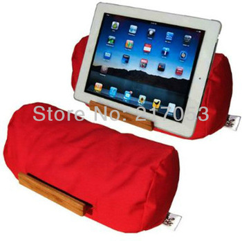 Soft Stand for iPad Tablets of All Sizes Plus eReaders Smartphones Lap Log Beanbag Tablet Stand Yoga Pose 11 Colors