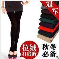 7 Colors 3 Designs For Choice Womens Warm Winter Bodycon Slim Elastic pants thicken capris Leggings