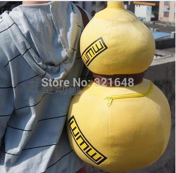 Naruto Gaara Plush  gourd bag cosplay