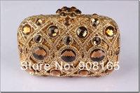 free shipping 5 colors 2014 new luxury women bag fashion high quality clutch handbag party crystal handbags