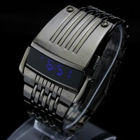 Cheapest  !!!  wholesale military 2013 Brad New!!! Fashion digital LED watches black men's wrist watch big size for man