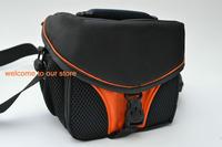 free shipping! 2013 New Waterproof Digital SLR Camera Bag Case For Nikon D90 D3100 D7000 D5200 D3200 D5100 ORANGE