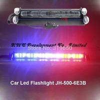 54W 24V Strobe Lights With Suction Cups & Fireman Flashing Emergency Warning Car Light 3 Flashing Mode