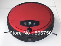 Free Shipping Wet And Dry Moping Automatic Wireless Vacuum Cleaner With Voice Function , Two Side Brush,