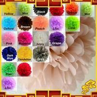 Free Shipping 100pcs/lot 15cm Paper Garland Wedding Supplies Paper Bouquet Multicolour Garland Birthday Decoration Flowers
