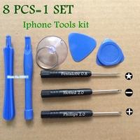 500set screwdriver set  8 in1 REPAIR PRY KIT OPENING TOOLS kit  For APPLE iphone htc nokia Samsung LG Motorola+Retail bags
