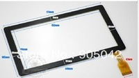 Free shiping 173mmX105mm Free shipping 7'' inch A13 touch screen touch panel digitizer glass code BSR028 BSR028-V1 KDX