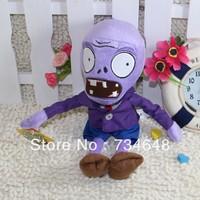 Plants vs Zombies Series Plush Toy Normal Zombie Purple 28*10CM