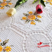 popular hand crochet tablecloth