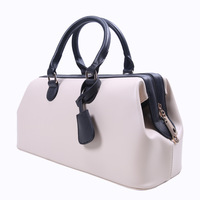 (White) New PU Leather Fashion Women Lady Messenger Purse Shoulder Handbag Bags