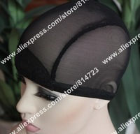 2PCS! New style Black wig cap elastic Black mesh hat soft and comfortable, noble net cap for wig making,elastic and comfortable