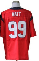 Men 99 JJ Watt  elite American football Jersey,Cheap mens Sports Jersey,Embroidery logos,Mix order