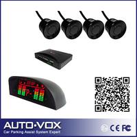 LED Display Car Wireless Parking Sensor System, Reverse Backup Radar (black,white,silver)