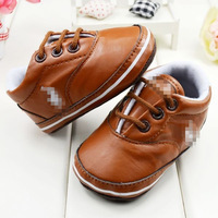 new 2013 top leather baby boy shoes retail 100% branded new elastic band solid shoes kids for first walkers and infantile