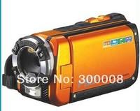 "Waterproof most hot selling ORANGE color 1080P Full HD under water 5meters 16MP digital video camcorder with 3.0"" TFT screen"