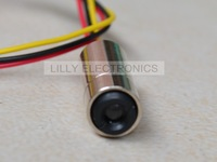 NEW 12x40mm Red Laser Dot Diode Module 650nm 658nm 30mW with TTL 0-20KHZ