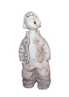 Ceramic Art (The boy of Shanxi) 16*20*30 Home  Decoration