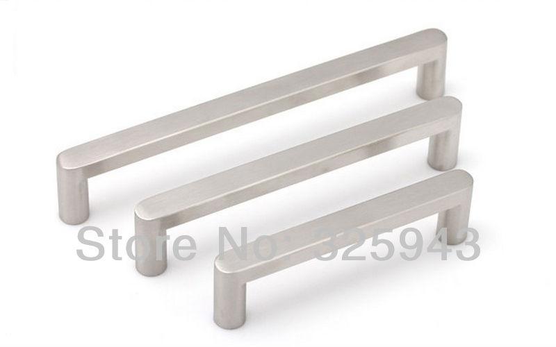 2pcs 128mm brushed nickel bedroom furniture hardware door
