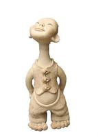 Craft Long Neck Home Decor (Ceramic Art )12*15*34