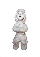 Clay polymer Craft modern art (ceramic by hand) 16*20*32 Home Decor