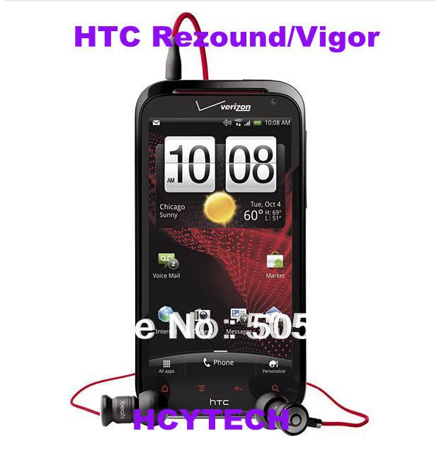 Refurbished Original HTC Rezound 4G Phone /Vigor/ADR6425 / ThunderBolt 2 / Droid Incredible HD verizon brand WiFi GPS(China (Mainland))