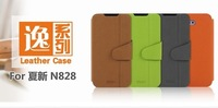 Hot selling Mofi leather case for Amoi N828  N820 N821 N850, original colorful high quality  Amoi N828 case cover in stock