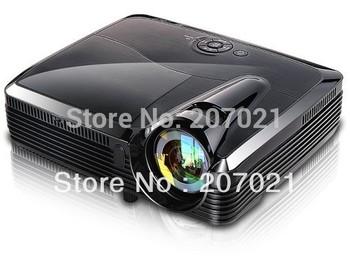Osram lamp 240W short throw 5200Lumens 3D DLP Projector holographic film Projector/projektor/projetor/proyector Freeshipping