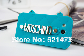 30pcs/lot Free Shipping Luxury Milan Bag Design Phone Case Ladies Handbag For Samsung Galaxy 9300 S3