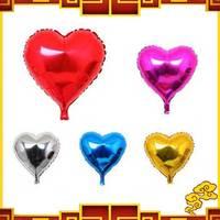 Free Shipping Wedding decoration supplies aluminum balloon 18 heart of love balloon