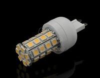 Hot Sale G9 Corn Light With 36 SMD5050 LED 200V-240V/6W Warm White Bulb Lamp 12022