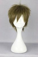 Free Shipping 30cm Short  Makoto Tachibana Anime Cosplay Wig