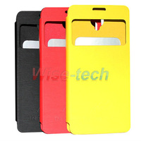 Free Shipping 3 colors Original Flip Case for TCL idol X S950 Quad Core Smartphone Black Red Yellow