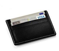 Stelton - Genuine Leather Card holder Card & ID Holders Business Card Holder Key Men wallets famous brand men Fahsion