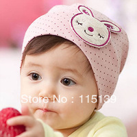 Min Order $10 Free ---The Baby/Infant  Cartoon Rabbit Cotton Hair Band Dot Children's Accessories