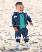 337  MOQ1 new kid clothes baby boy casual 3pcs set suit coat+T-shirt+pant baby sport suit children wear free shipping