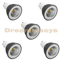 5 Pcs GU10 3W Warm White/Cold White COB LED Spot Light PAR16 Down Lamp Bulb 110V-240V