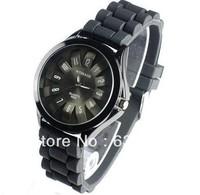 free & drop shipping 1pcs/lot wholesale New fashion Hot Sales women fashion silicone quartz wrist watch