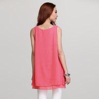 Female fashion loose chiffon  Women dress  66056