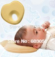 Newborn New Baby Infant Pillow Memory Foam Prevent Flat Head  Anti Roll support