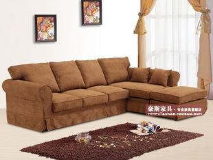 furniture fabric sofa combination of minimalist modern style