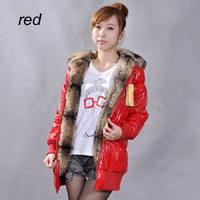 Free shipping New 2013 High quality  fur coat autumn -summer down jacket and big size winter coat women F2010