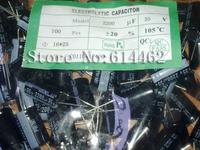 50PCS Electrolytic Capacitors 35V 2200UF 35V 2200 UF Volume: 16*25 Best price and good service