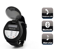 Bluetooth Watch Bracelet with caller ID display and dial keypad +call answering+hang up call+vibrate alert