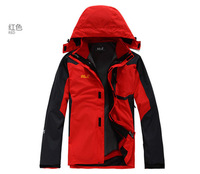 NEW ARRIVAL Top Brand QUALITY 2013 NEW man's Outdoor  Double Layer Breathable Waterproof Climbing Jackets Sportwear coats