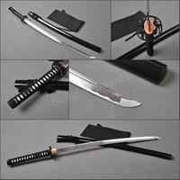 Muramasa Tsuba Japanese 1095 Carbon Steel Samurai Sword Full Tang Sharp Katana * 163