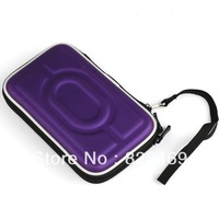 """Portable 2.5"""" Ide/sata HDD Hard Drive Disk Storage Box Pouch Case Carrying Case bag Protection Fits  Digital devices (Purple)"""