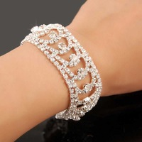 New Arrival!!2013 Christmal Gift Fashion CZ Diamond Bracelet,Charms Full Drill Women Bracelet,Jewelry Bracelet YHDSH009