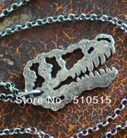 Fashion Tyrannosaurus Dinosaur Pendant Necklace